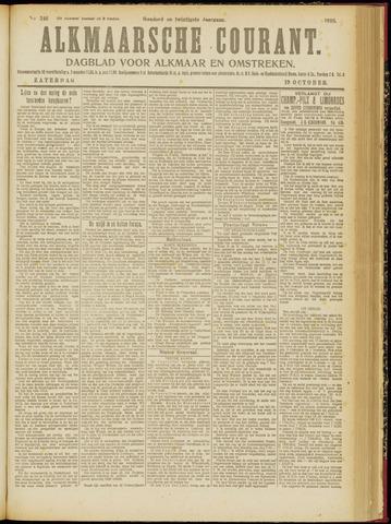 Alkmaarsche Courant 1918-10-19