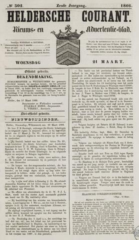 Heldersche Courant 1866-03-21