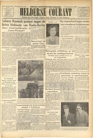 Heldersche Courant 1952-06-04