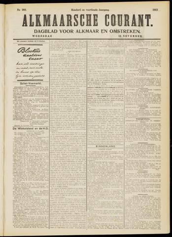 Alkmaarsche Courant 1912-11-13