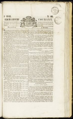 Alkmaarsche Courant 1841-10-04