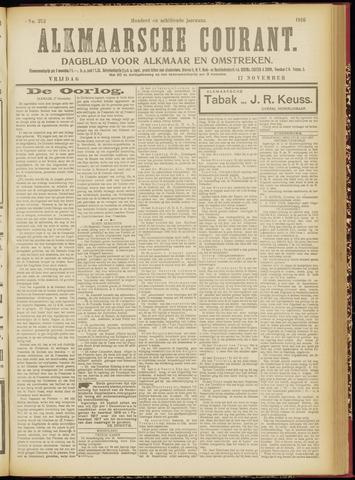 Alkmaarsche Courant 1916-11-17