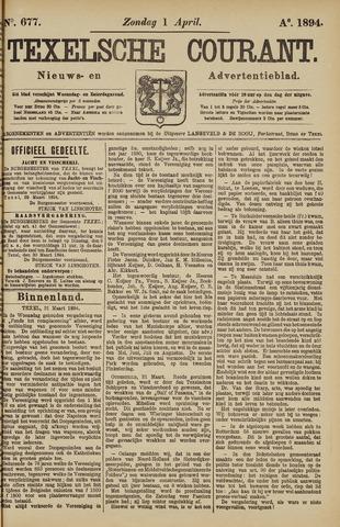 Texelsche Courant 1894-04-01