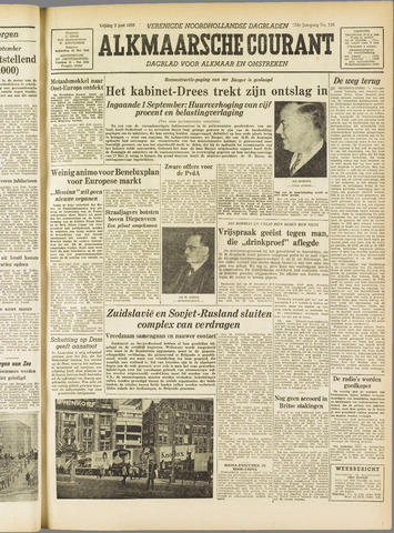 Alkmaarsche Courant 1955-06-03