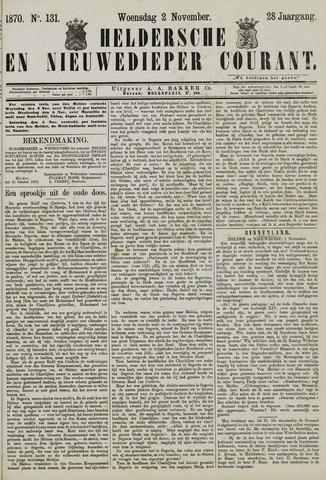 Heldersche en Nieuwedieper Courant 1870-11-02