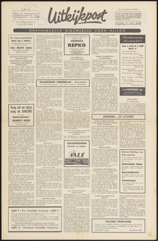 Uitkijkpost : nieuwsblad voor Heiloo e.o. 1966-05-18