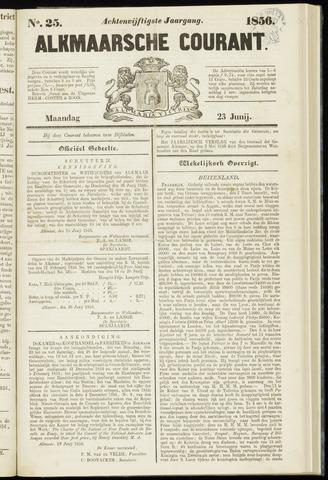 Alkmaarsche Courant 1856-06-23