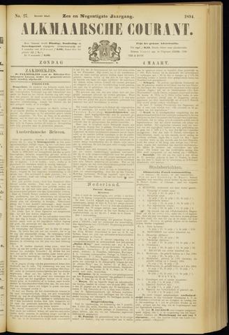 Alkmaarsche Courant 1894-03-04