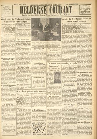 Heldersche Courant 1949-10-10