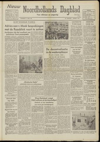 Nieuw Noordhollandsch Dagblad : voor Alkmaar en omgeving 1948-04-15