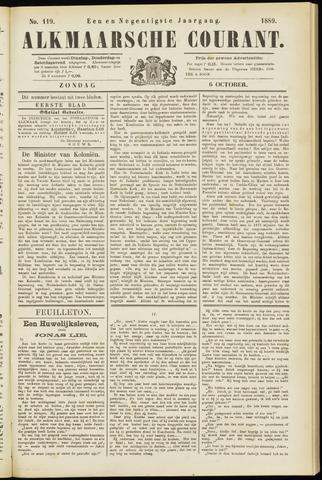 Alkmaarsche Courant 1889-10-06