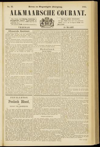 Alkmaarsche Courant 1895-03-15