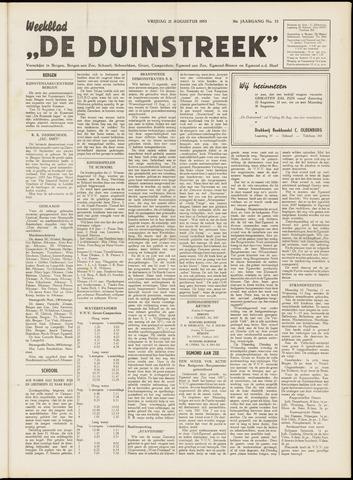 De Duinstreek 1953-08-21