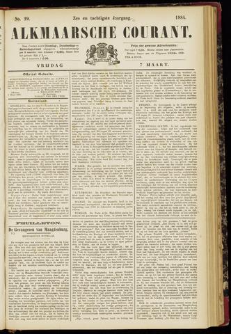 Alkmaarsche Courant 1884-03-07