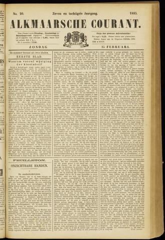 Alkmaarsche Courant 1885-02-15