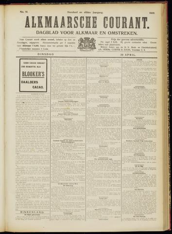 Alkmaarsche Courant 1909-04-20