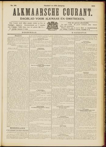 Alkmaarsche Courant 1909-08-12