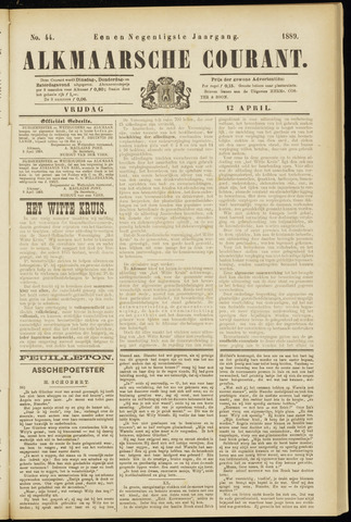 Alkmaarsche Courant 1889-04-12