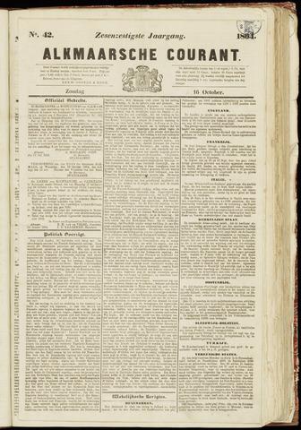 Alkmaarsche Courant 1864-10-16