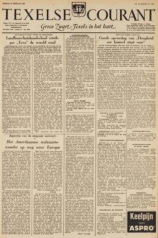 Texelsche Courant 1963-02-26