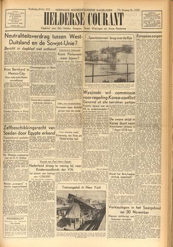 Heldersche Courant 1952-10-30