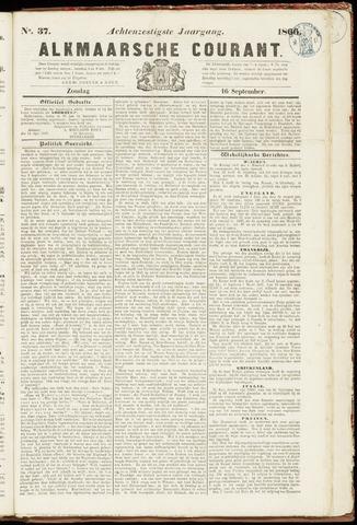 Alkmaarsche Courant 1866-09-16