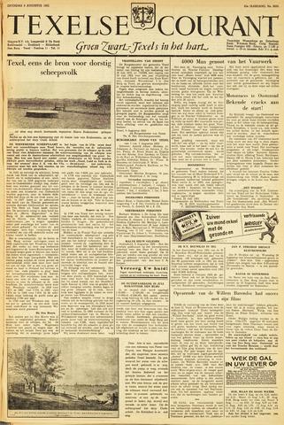 Texelsche Courant 1952-08-09
