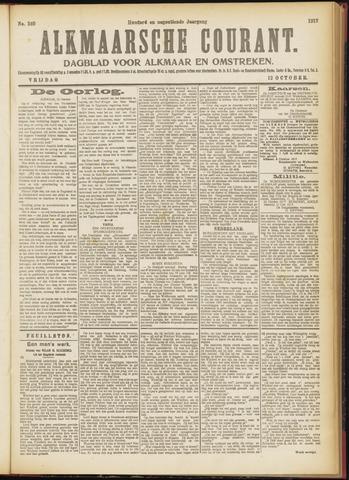 Alkmaarsche Courant 1917-10-12