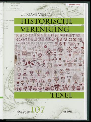 Uitgave Historische Vereniging Texel 2013-06-01