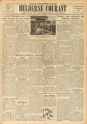 Heldersche Courant 1949-02-26