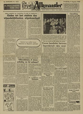 De Vrije Alkmaarder 1949-08-04