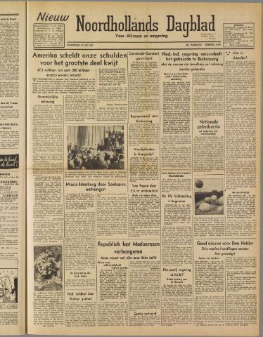 Nieuw Noordhollandsch Dagblad : voor Alkmaar en omgeving 1947-05-29