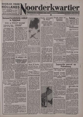 Dagblad voor Hollands Noorderkwartier 1942-01-26