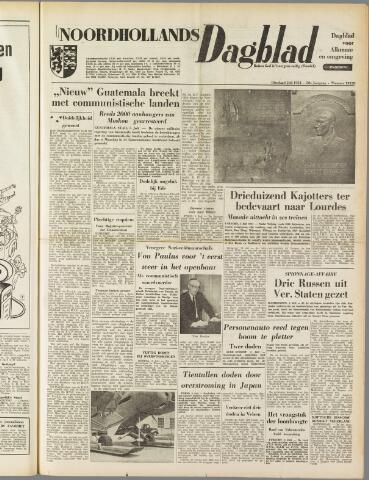 Noordhollands Dagblad : dagblad voor Alkmaar en omgeving 1954-07-06