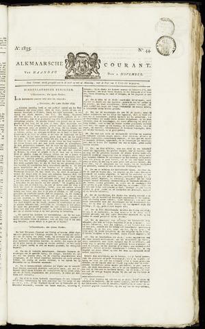 Alkmaarsche Courant 1835-11-02