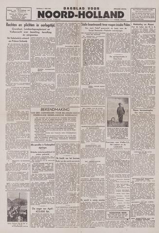Dagblad Noord-Holland, Schager editie 1943-05-07