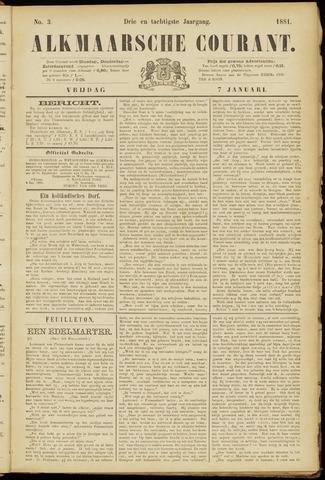 Alkmaarsche Courant 1881-01-07