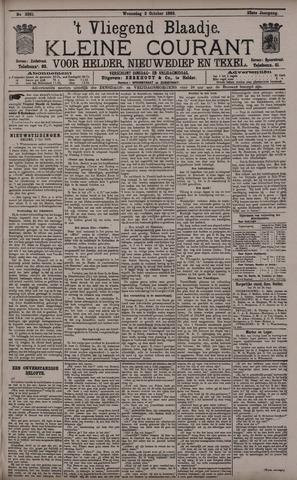 Vliegend blaadje : nieuws- en advertentiebode voor Den Helder 1895-10-02
