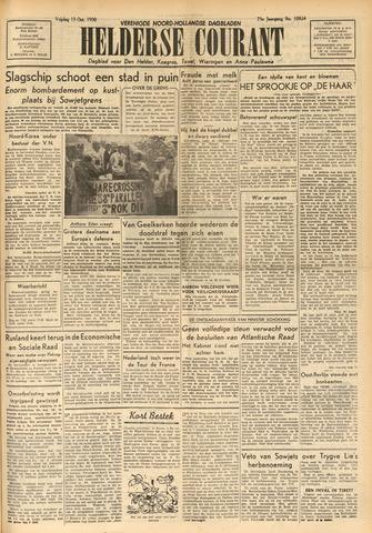 Heldersche Courant 1950-10-13