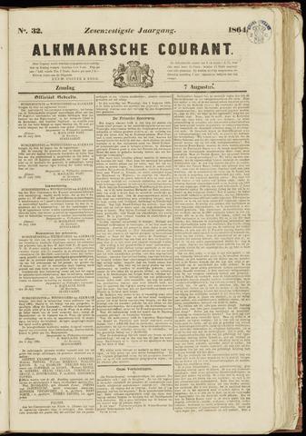 Alkmaarsche Courant 1864-08-07