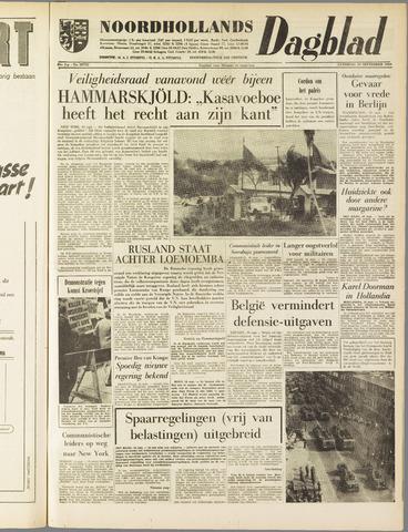 Noordhollands Dagblad : dagblad voor Alkmaar en omgeving 1960-09-10