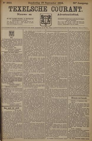 Texelsche Courant 1916-09-28