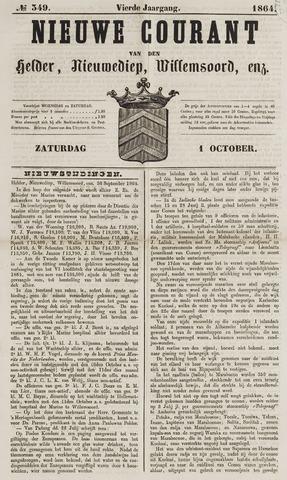 Nieuwe Courant van Den Helder 1864-10-01