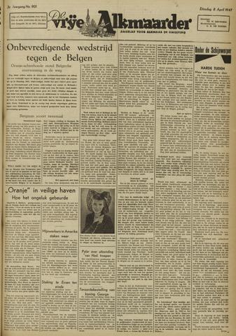 De Vrije Alkmaarder 1947-04-08