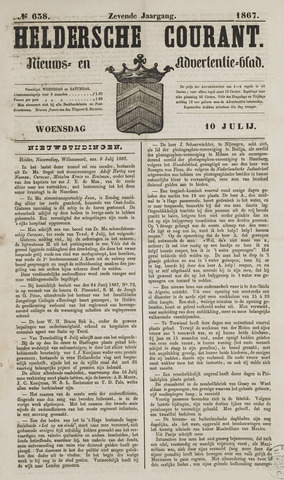 Heldersche Courant 1867-07-10