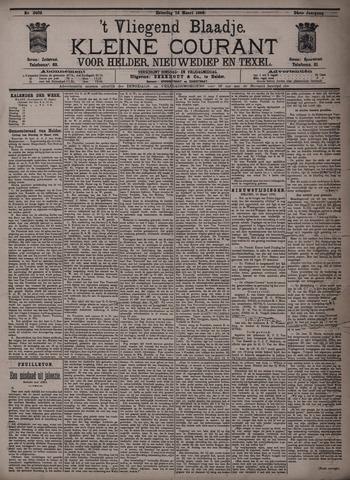 Vliegend blaadje : nieuws- en advertentiebode voor Den Helder 1896-03-14
