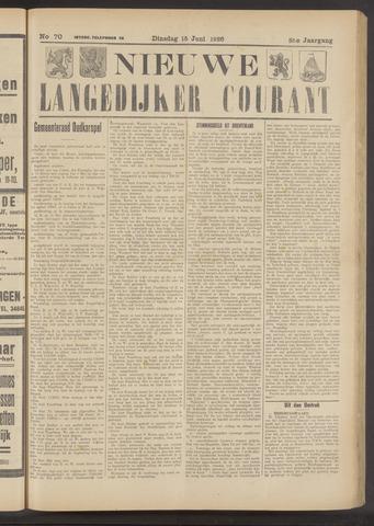 Nieuwe Langedijker Courant 1926-06-15