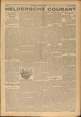 Heldersche Courant 1926-02-11