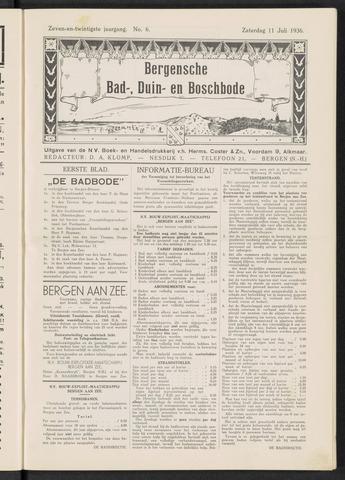 Bergensche bad-, duin- en boschbode 1936-07-11