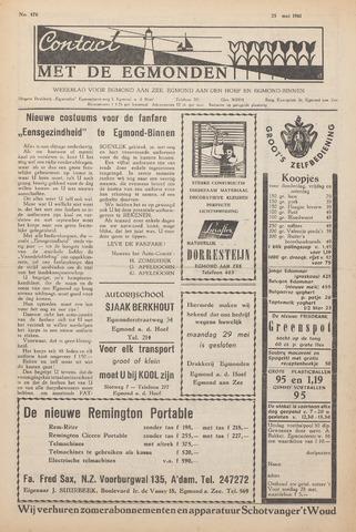 Contact met de Egmonden 1961-05-25
